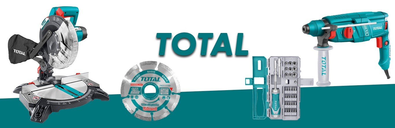 Total máquinas ferramentas e acessórios